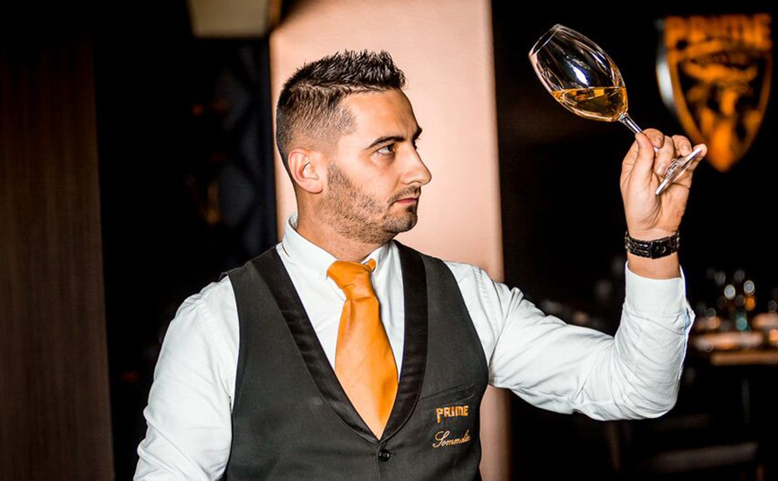 Nagy Márton, Prime Stakehouse and Wine sommelier