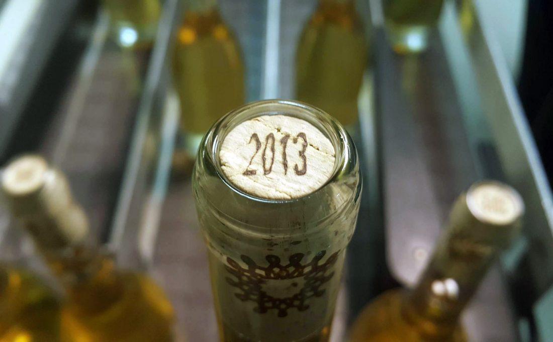 Tokaji aszú 2013 Holdvölgy Culture palackozás